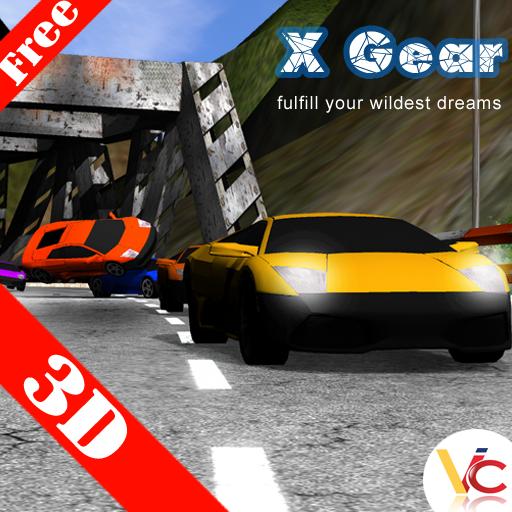 汽车比赛3D 賽車遊戲 App LOGO-APP試玩