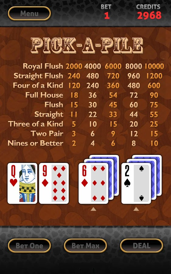 Vegas Video Poker HD- screenshot