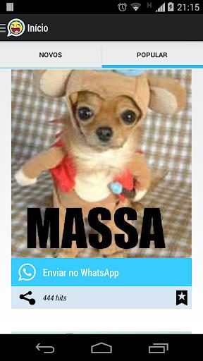 Reações para WhatsApp