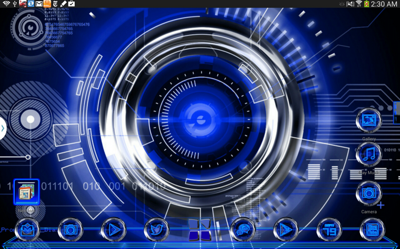 Blue krome iconpack next theme android apps on google play - Google chrome 3d home design app ...