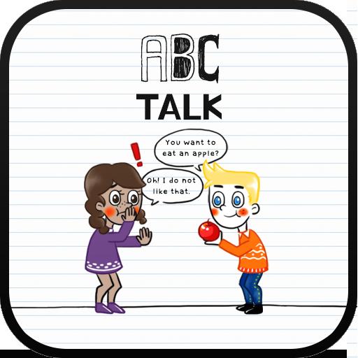 ABC TALK go launcher theme