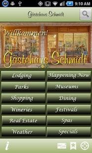 Gästehaus Schmidt Guide - screenshot thumbnail
