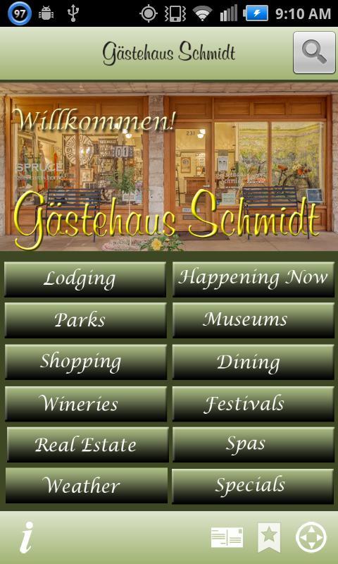 Gästehaus Schmidt Guide - screenshot