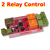 PLC 2 relay remote control net