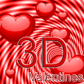 3D Valentines Live Wallpaper