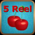 Five Reel Slot Machine icon