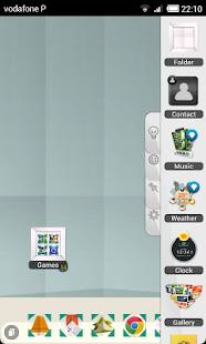 TSF Shell Origami Theme HD - screenshot thumbnail
