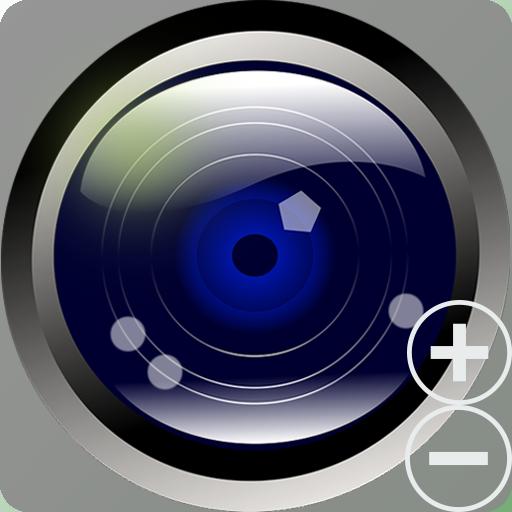 [高画質]ヒューマン無音カメラ(セルカ、後部、連写、タイマー 攝影 App LOGO-硬是要APP