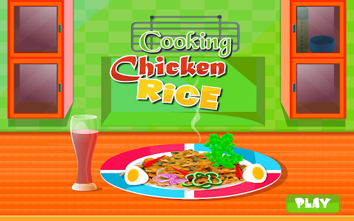Cooking Chicken Rice
