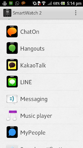 Smart Extension - Hangouts