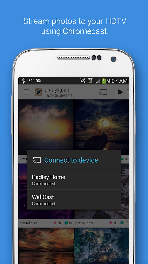 Dayframe (Chromecast Photos) - screenshot