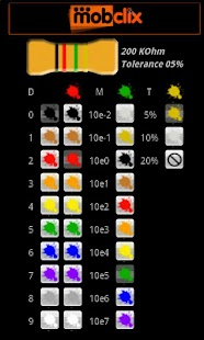 Resistor Color Code - screenshot thumbnail