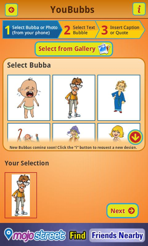 YouBubbs- screenshot