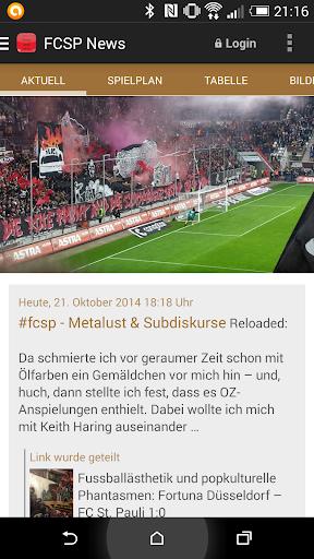 FC St. Pauli Blogs und News