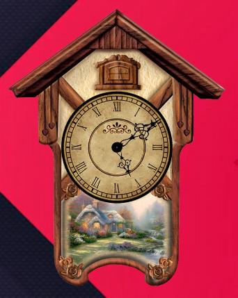 Cuckoo Clock Widget Free