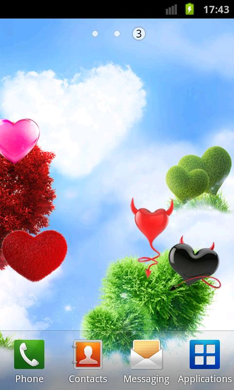 Heavenly Hearts Garden HD Free- screenshot