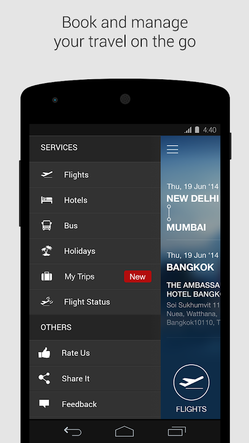 Makemytrip app domestic flight coupons