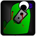 Blob Warrior (full) logo