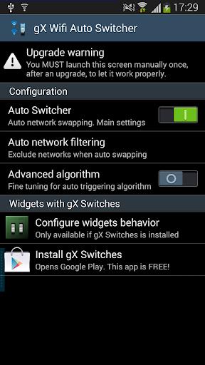 gX Wifi Auto Switcher