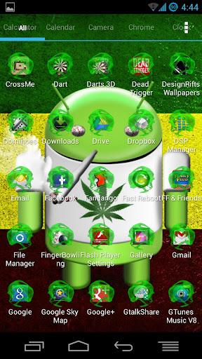 【免費個人化App】Green Smokecons Icon Skins-APP點子