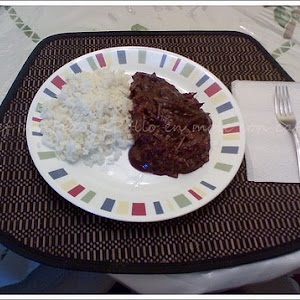 Chicken with Coffee Mole Sauce