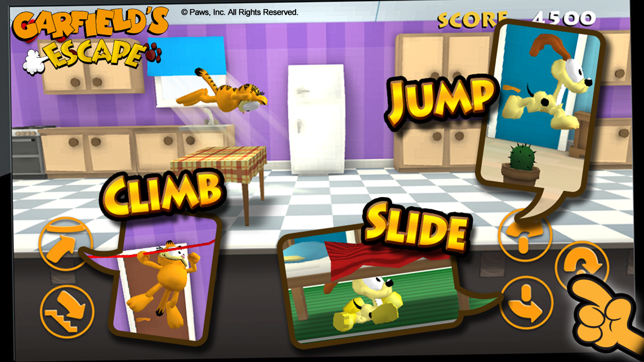 Garfield's Escape Premium - screenshot