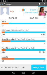Nexercise = fun weight loss - screenshot thumbnail