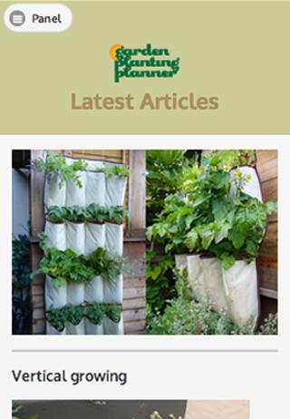Garden Planting Planner