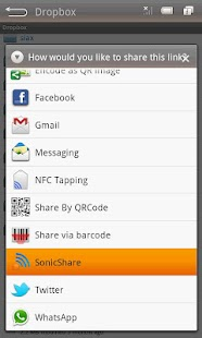 SonicShare- screenshot thumbnail