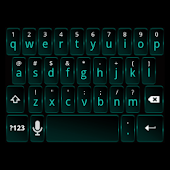 Dark Cyan Keyboard Skin