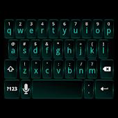Dark Cyan Keyboard Skin