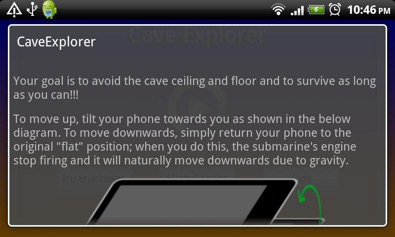 Cave Explorer- screenshot