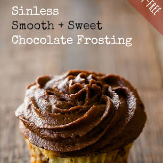 Sinless Smooth and Sweet Dairy-Free Chocolate Frosting.