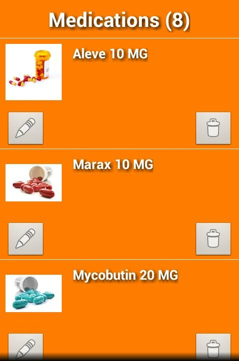 Track My Rx - screenshot
