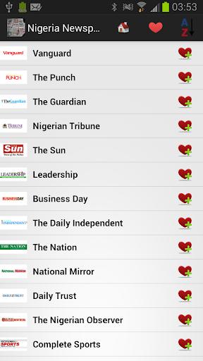 Nigeria Newspapers and News