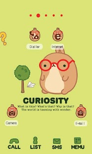 CUKI Theme curiosity molang