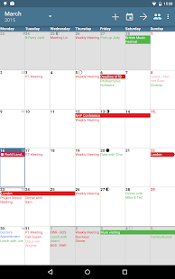 aCalendar+ Kalender & Tasks Screenshot