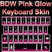 Pink Glow Keyboard Skin