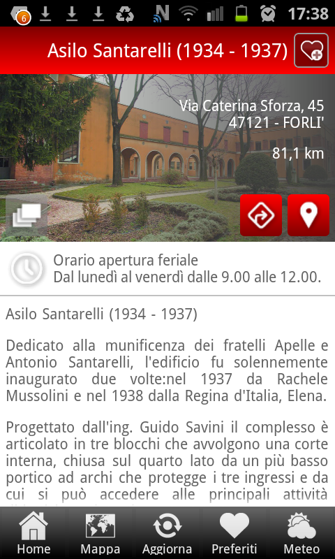 Visit Forlì- screenshot