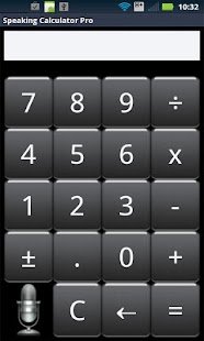 Speak n Talk Calculator Pro - screenshot thumbnail