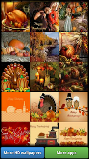 Happy Thanksgiving HD Wall - náhled
