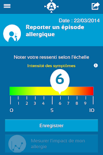 Allergy Track Capture d'écran