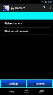 silent spy camera screenshot