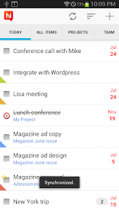 Hitask - Team Task Management screenshot 0