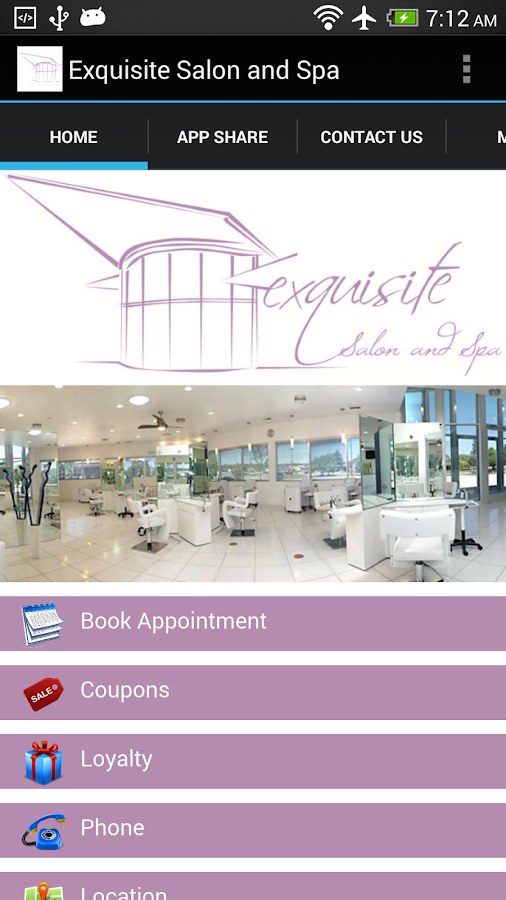 Exquisite Salon and Spa- screenshot