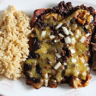 Tex-Mex Cheese Enchiladas with Chile con Carne #SundaySupper