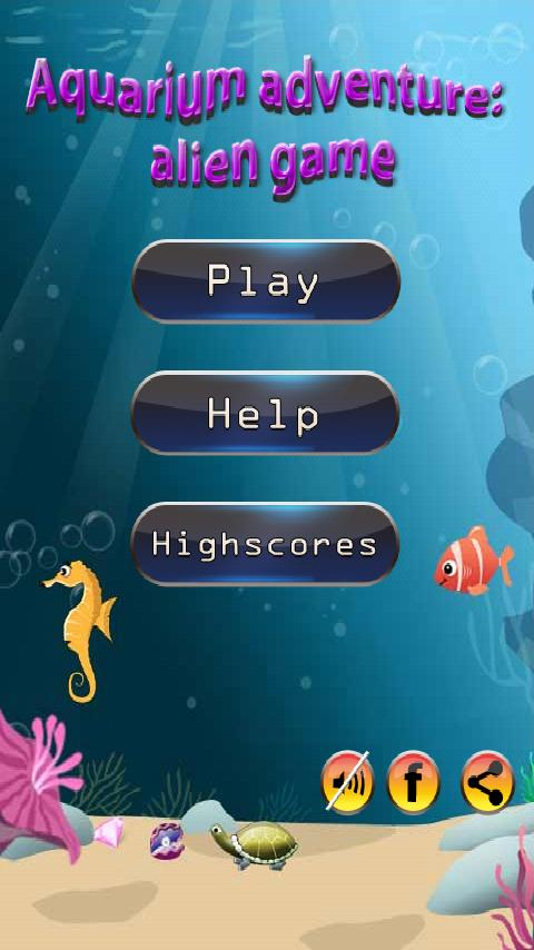 Aquarium Adventure: Alien Game - screenshot