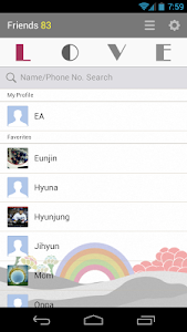 LOVE - KakaoTalk Theme screenshot 2