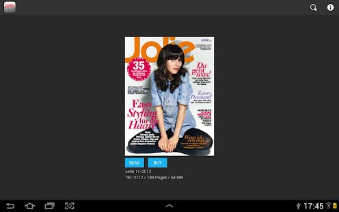 JOLIE emag - screenshot thumbnail