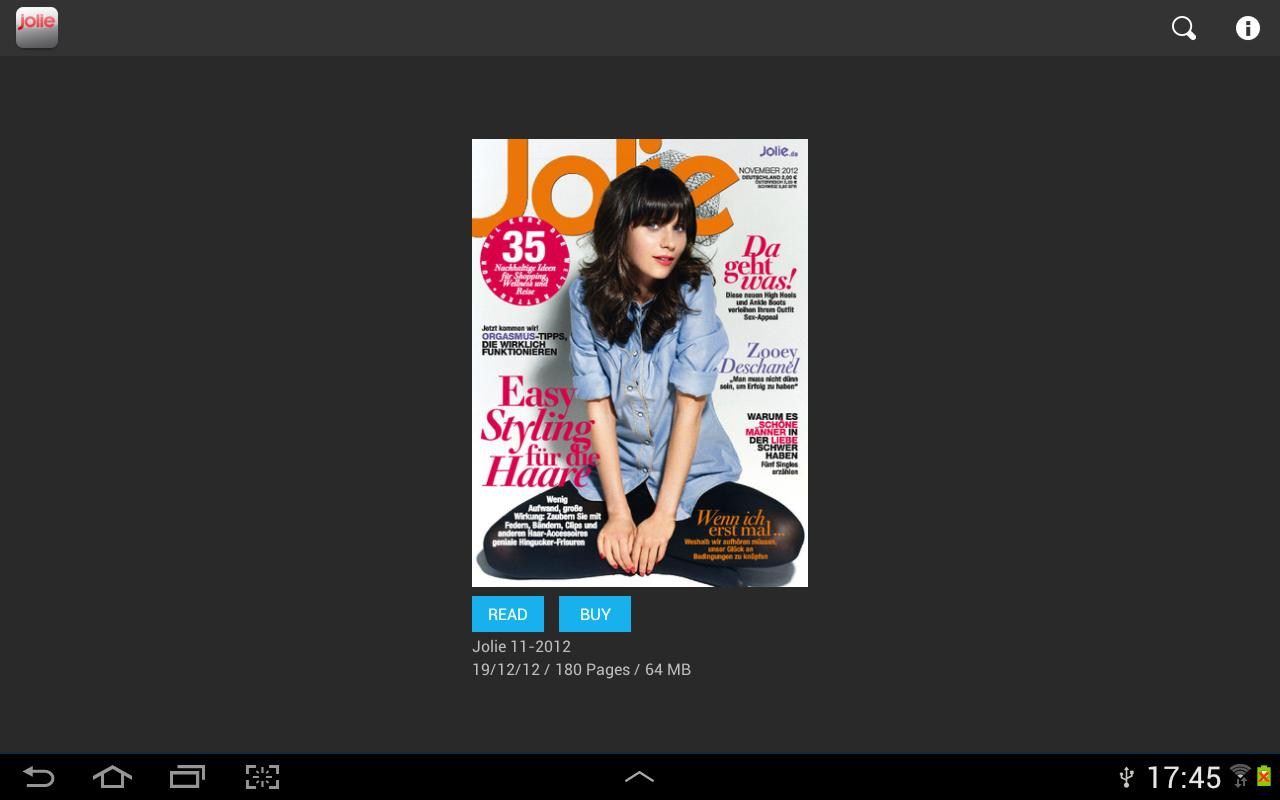 JOLIE emag - screenshot